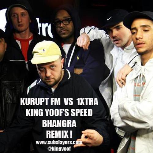 Kurupt FM vs MistaJam 1Xtra (King Yoof's Speed Bhangra remix)