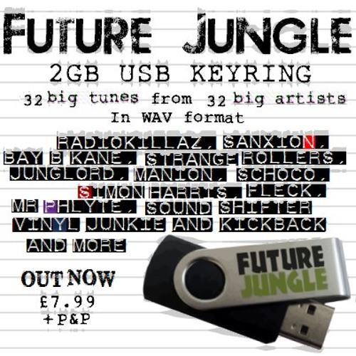 Future Jungle USB keyring mixed by DJ Gaffer