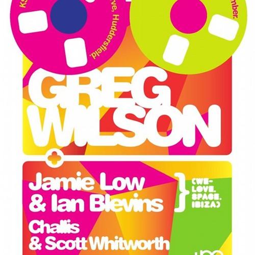 GREG WILSON @ VERVE HUDDERSFIELD 28.12.12