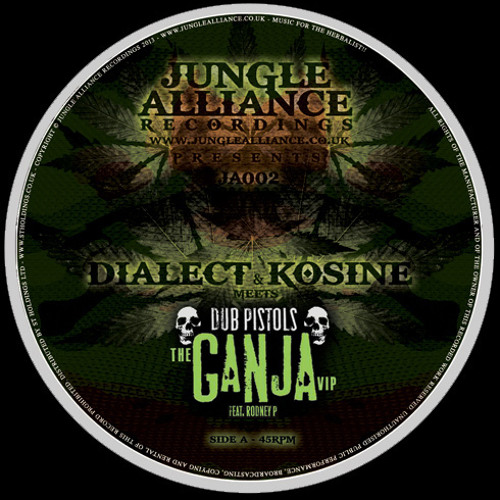 DIALECT & KOSINE meets DUBPISTOLS ft RODNEY P - Ganja Remix - AA: X-NATION - No Need To Tell You
