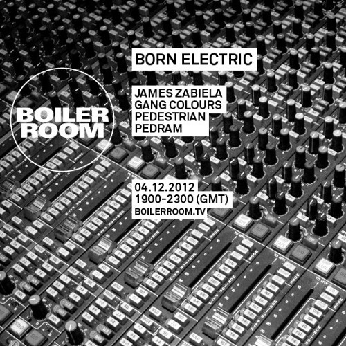 Pedestrian 40 min Boiler Room Mix - 04/12/12