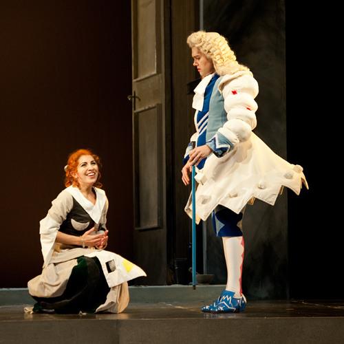 Seattle Opera LA CENERENTOLA: Karin Mushegain as Cenerentola