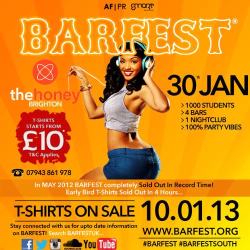 Afrobeats @BarfestUK @DjAfroB 2013