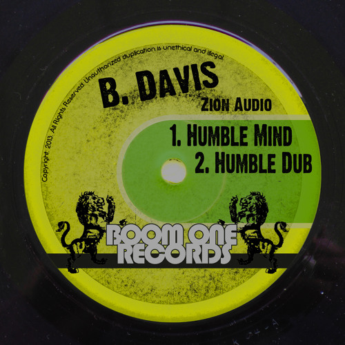 B. Davis - Humble Mind (Digital 45)