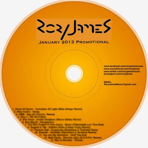 RoryJames - January 2013 Promotional