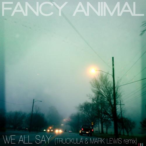 "Fancy Animal - ""We All Say"" (Truckula & Mark S. Lewis remix)"