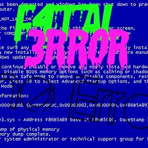 The Error (Part 1) by F4TAL 3RROR