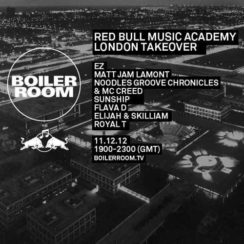 Free D'load: Matt Jam Lamont Boiler Room & Red Bull Music Academy Mix 11:12:12
