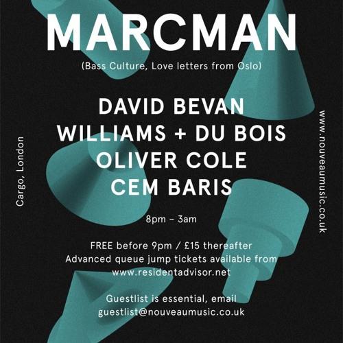 Oliver Cole live @ Cargo 12/1/13