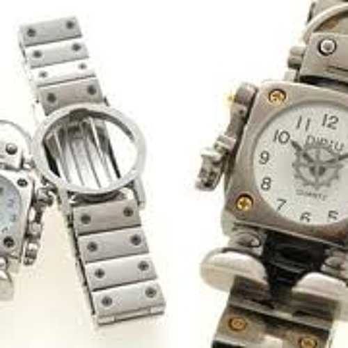Trap clock like a robot