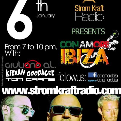 Giuliano A.L. Con Amore Ibiza V5 On www.stromkraftradio.com