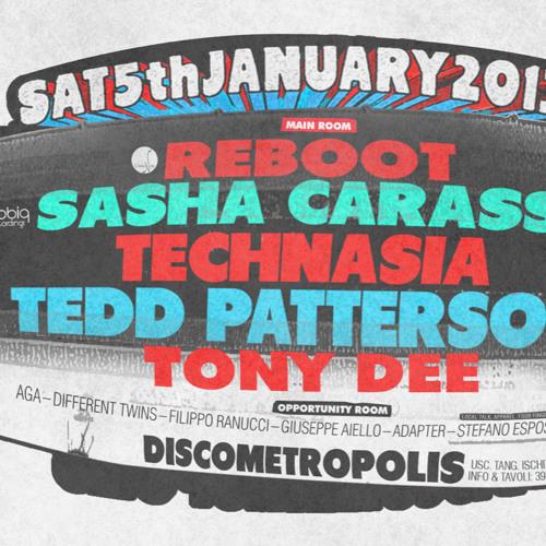 Sasha Carassi @ Angels Of Love (Metropolis) Napoli 05.01.2013