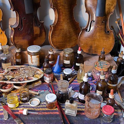 Geoff Seitz, Violin Maker