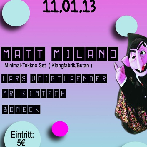 Matt Milano 11.01.13 @ Koyote