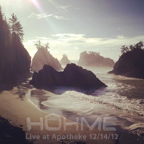 Hohme - Live, Last Night at Apotheke 12/13/2012