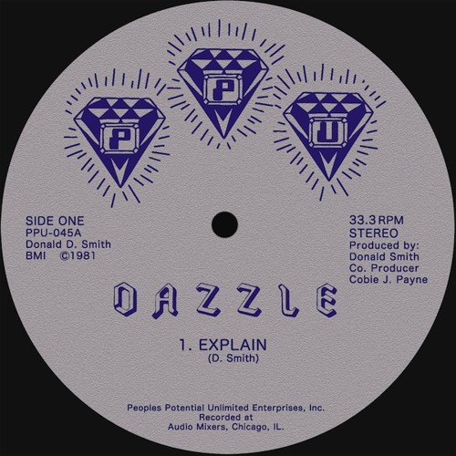 "DAZZLE ""Explain"" PPU-045 MILWAUKEE DISCO FUNK 12"""