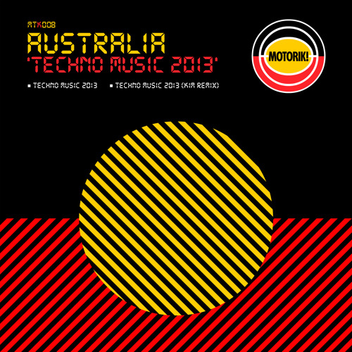 Australia - Techno Music 2013 (Preview)
