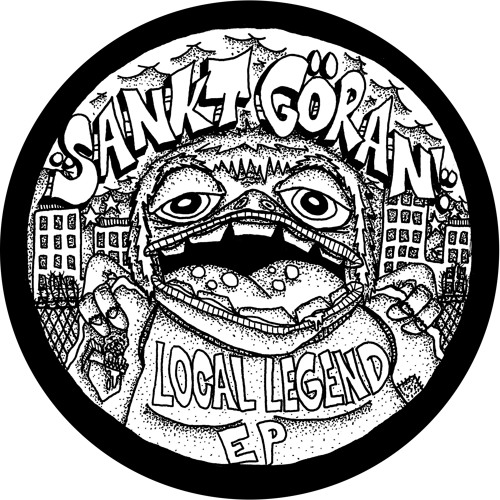 ccd006 Sankt Göran - Local Legend Ep