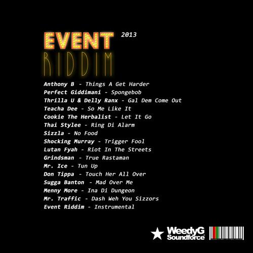 VA Event Riddim   Weedy G Soundforce 2013