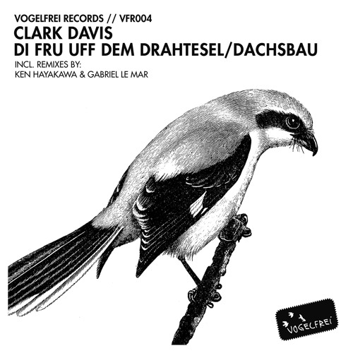 Clark Davis - Di Fru Uff Dem Drahtesel (Ken Hayakawa Remix) PRESALE AT DEEJAY.DE