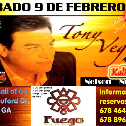 TONY VEGA EN FUEGO