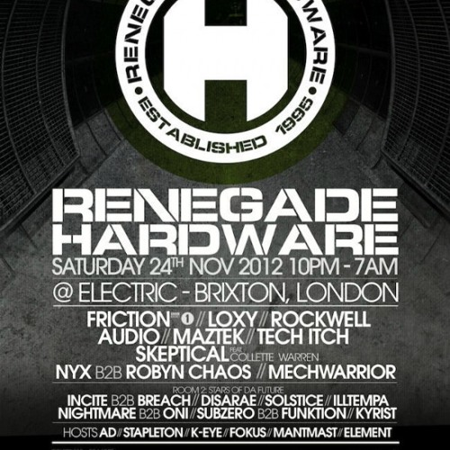 Maztek Live @ Hardware | Electric Brixton Nov 2012