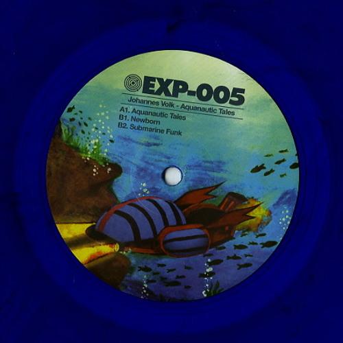 Johannes Volk - Aquanautic Tales - EXP-005