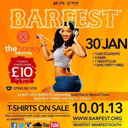 Bashment @BarfestUK @DJMarshall91 2013
