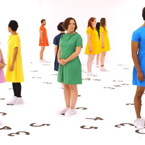 """Movement1 - """"343 dresses"""" Art project by Mary Younakoff"""
