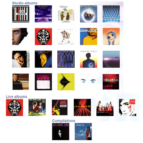 Jean Michel Jarre - Songs (Studio Live And Compilations - Studio Album)