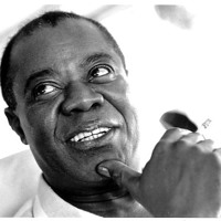 Louis Armstrong What A Wonderful World Artwork