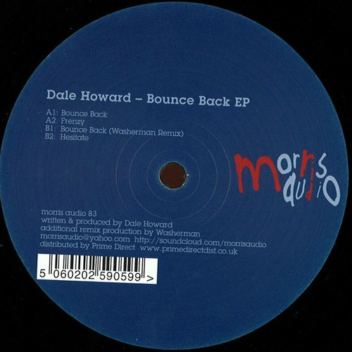 """Bounce Back EP [Morris Audio] 12"""" OUT NOW"""