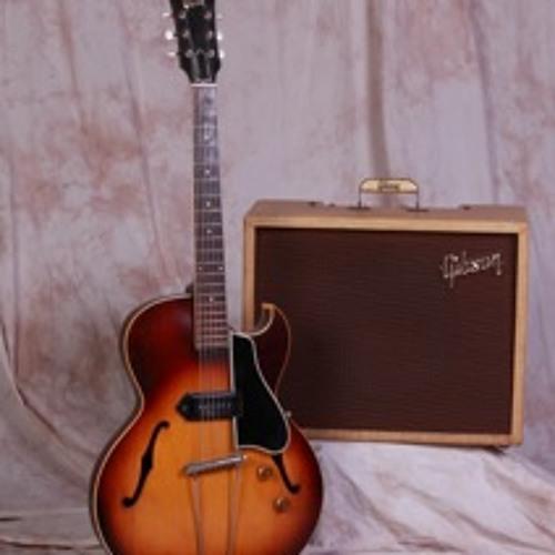 1956 Gibson ES-225, River Road