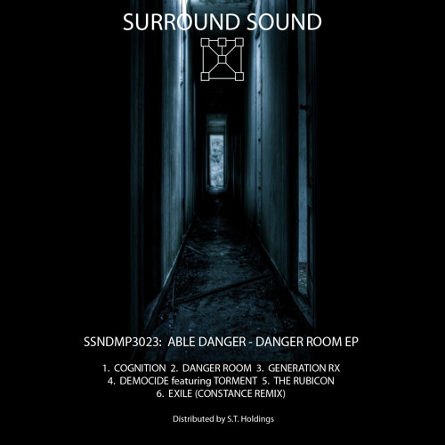 OUT NOW: AbleDanger - Cognition 'Danger Room EP' (Surround Sound)