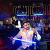 Live at Buddha Bar London with Moon on electric violin-5-01-2013