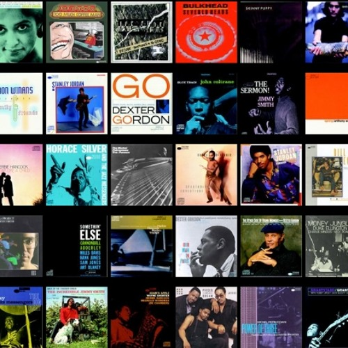 Blue Note Record Covers