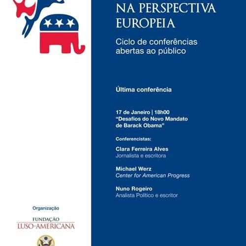 Nuno Rogeiro @ Desafios do novo mandato de Barack Obama (17-01-2013)
