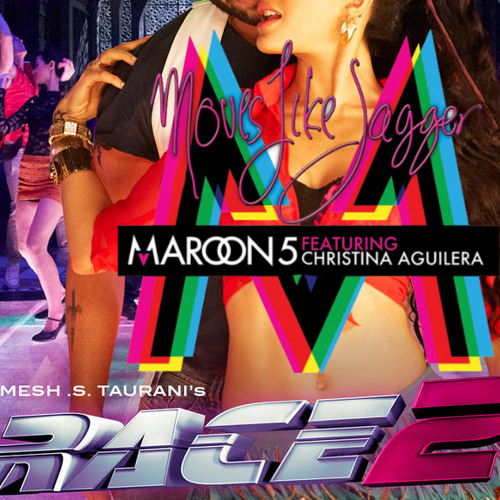 DJ AKS - Lat Lag Gayee (Moves Like Jagger Mashup) - RACE 2