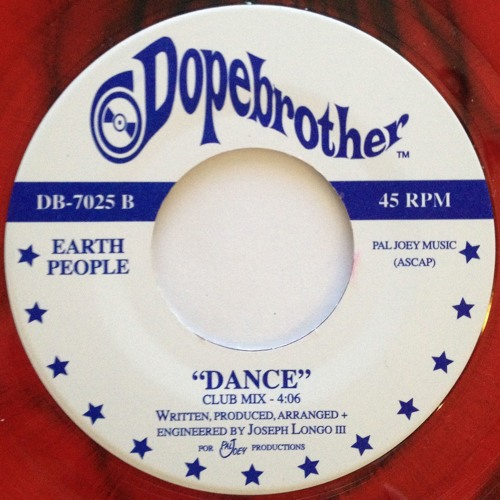 Dance-Earth People (45 Release)