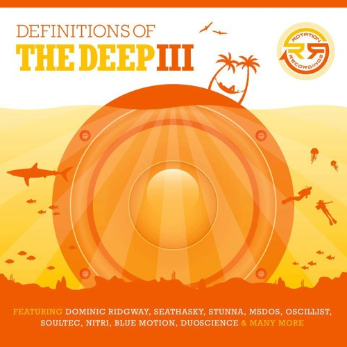 RD017 - Oscillist - Finding Solace - Definitions Of The Deep III - (Digital & Double CD) RDUK ©