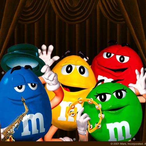 M&M's For A Ministry That Melts In The Heart & Not In Your Hand