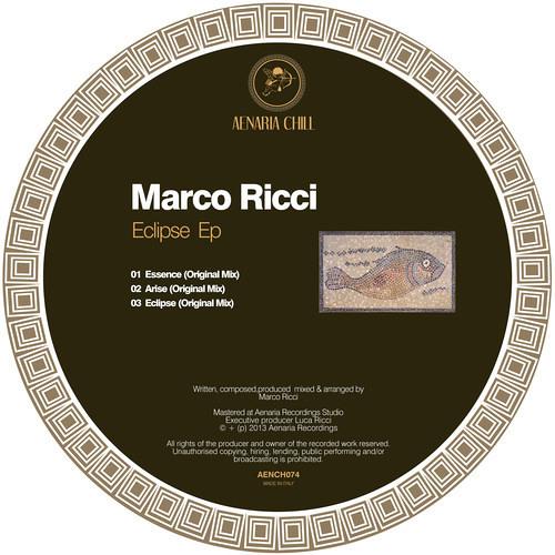 Marco Ricci - Eclipse EP - Aenaria Chill [AENCH074]