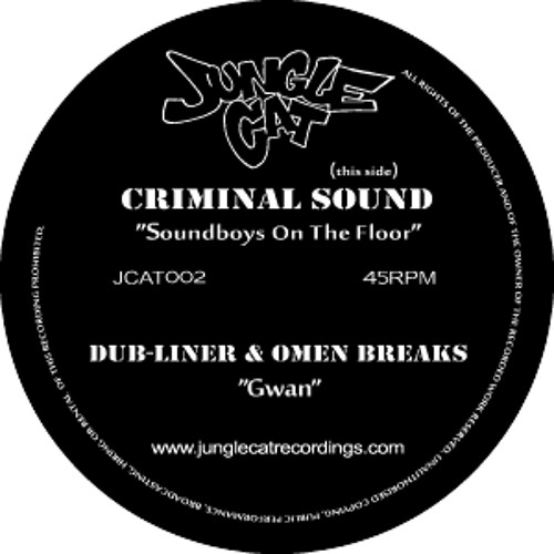 Criminal Sound - Soundboys On The Floor [JCAT002-A] (192kb)