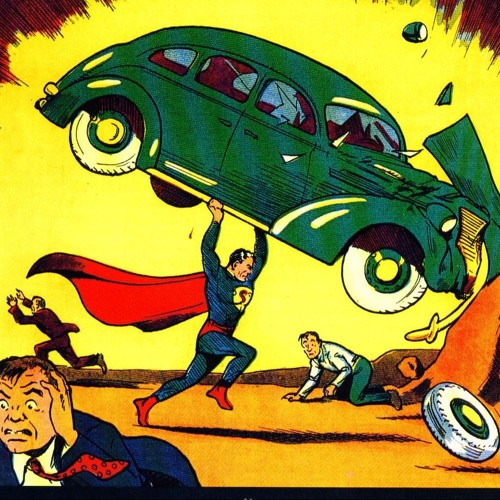 Bryan Talbot presentation on comic art. Part 2: US superhero comics from the 30s to the 60s