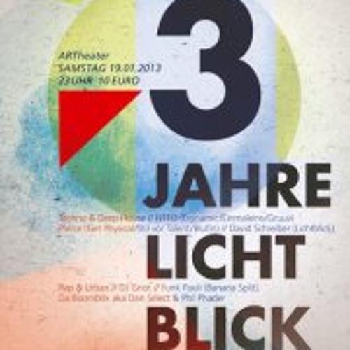 DJ SET ::: PIERCE @ ARTheater Köln Lichtblick 19.01.2013 ::: part 1/2 DEEP