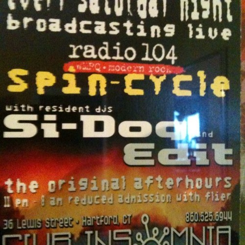 Si-Dog & Edit, Epic Trance tag set, Live from Club Insomnia 8-1-2000, The final Spin-Cycle