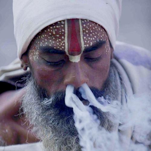Sadhu Blessing