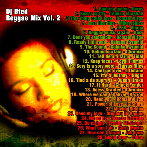 DJ Bfed - Reggae Mix Vol. 2