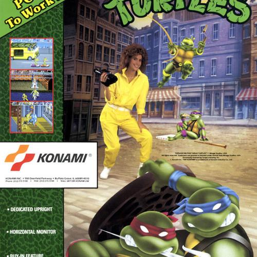 Teenage Mutant Ninja Turtles Arcade Scene 5 Technodrome