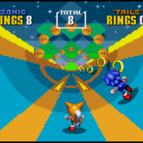 Sonic the Hedgehog 2 Special Stage